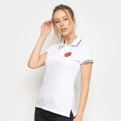 Camisa Polo Vasco Hat Trick Feminina