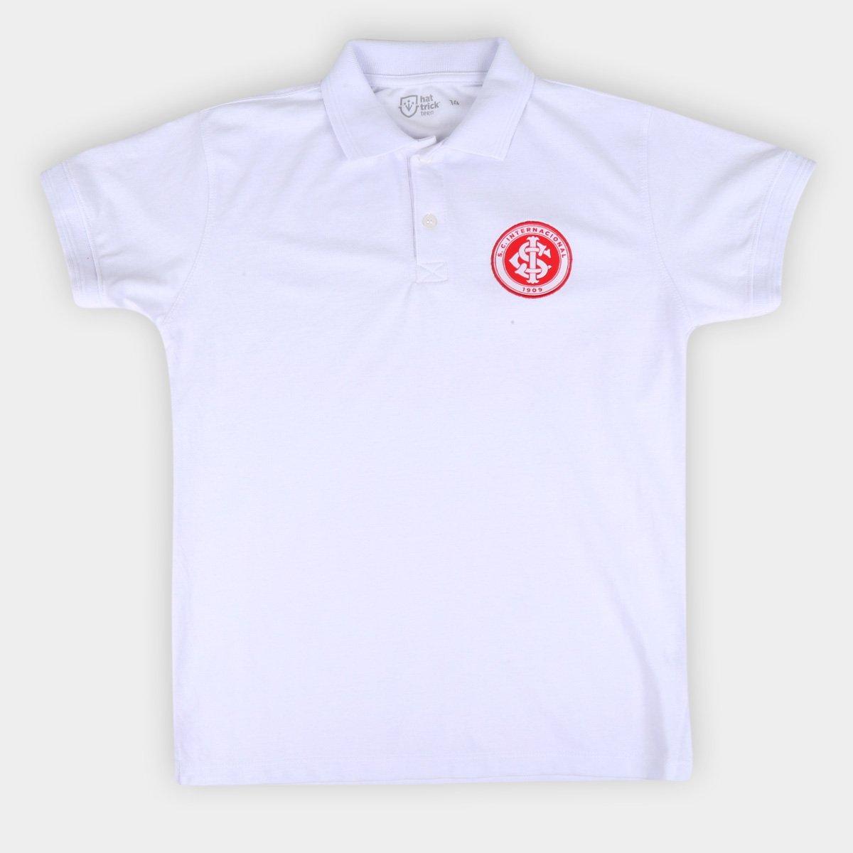 Camisa Polo Internacional Juvenil Hat Trick