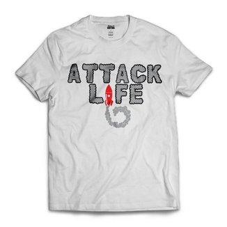 Camiseta Attack Life Rocket II a81e4f1d29d75