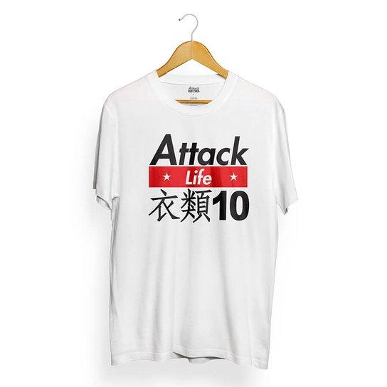 9ac1c5baf5465 Camiseta Attack Life Street Wear - Compre Agora