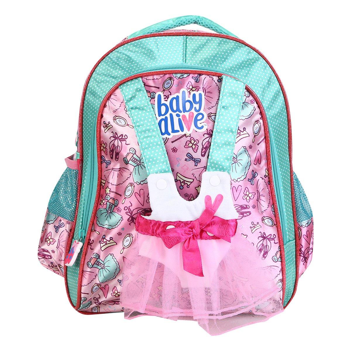261f53b84 FornecedorNetshoes. Mochila Infantil Escolar Pacific Baby Alive-980A05