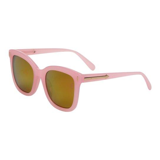 e6489f08a67ad Óculos de Sol King One A52 Feminino - Rosa e Dourado - Compre Agora ...