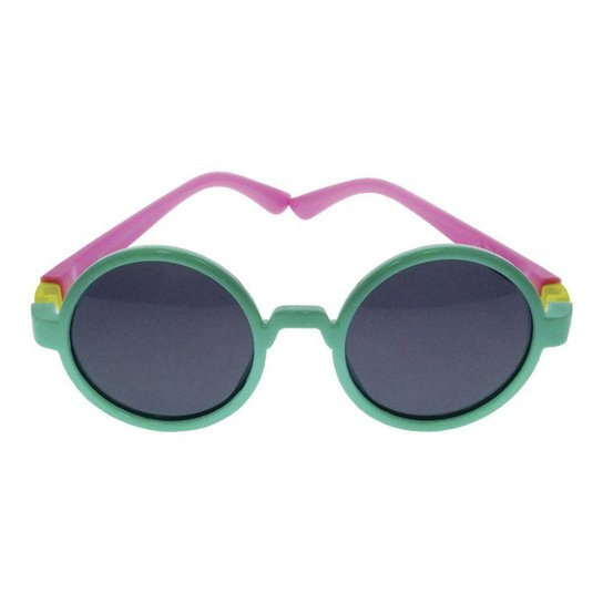 65642d7af7238 Óculos de Sol Khatto Infantil Baby Round Feminino - Compre Agora ...