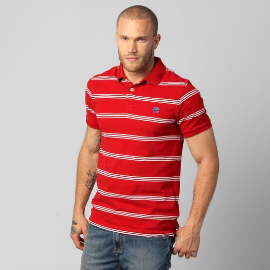 c3f68738c1 Camisa Polo Timberland Stripe Jersey - Compre Agora