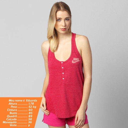 Camiseta Regata Nike Gym Vintage - Compre Agora  938a7474f5eb6