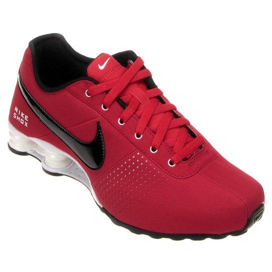 new styles d37f4 7e077 Tênis Nike Shox Deliver - Vermelho