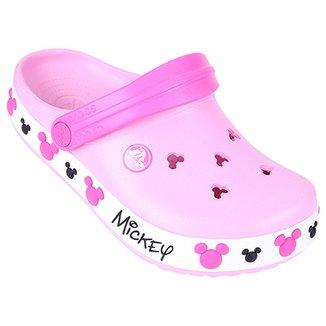 a3f30afd1f4 Sandália Crocs Infantil Crocband Mickey IV Clog