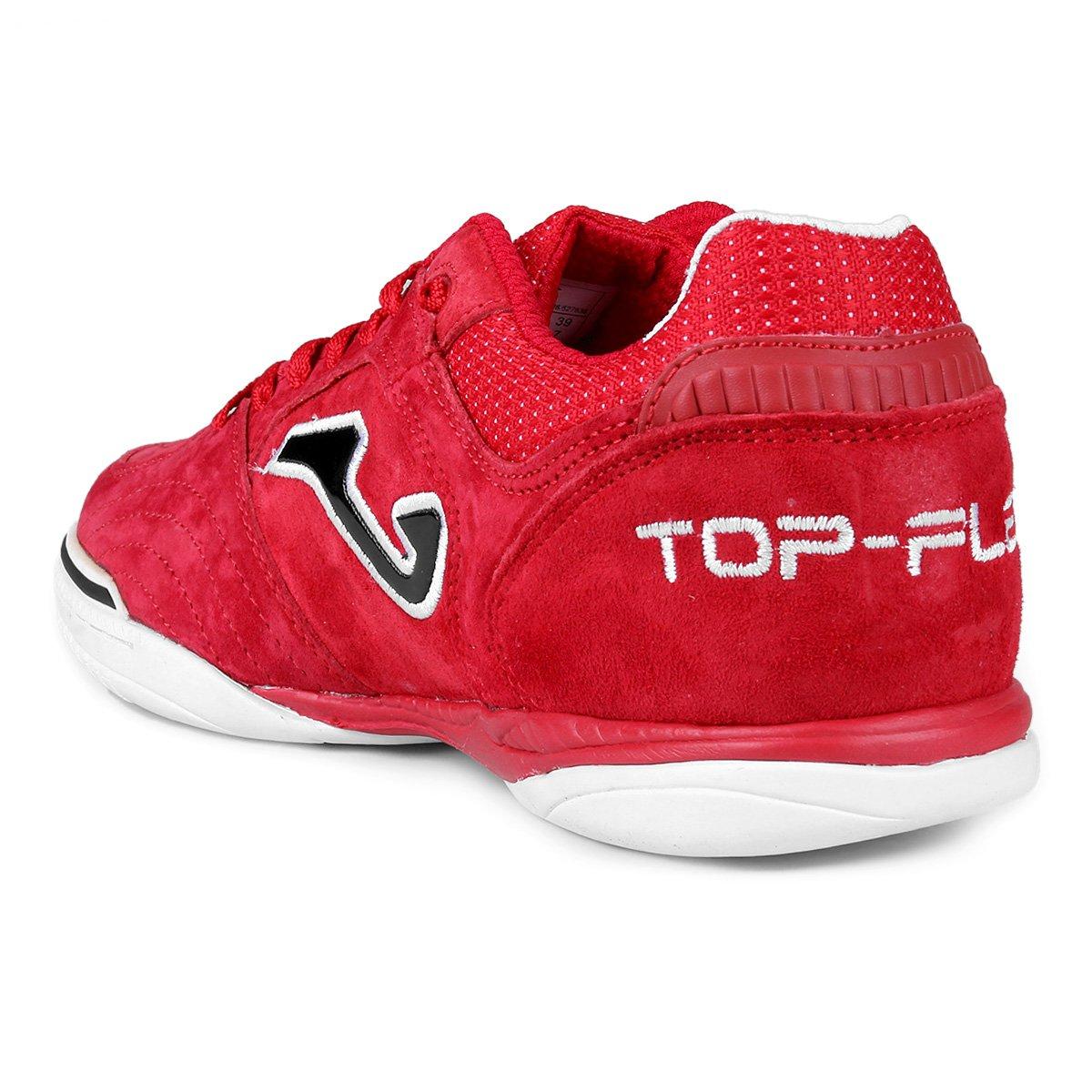 463e29c5a8 Chuteira Futsal Joma Top Flex - Tam  44 - Shopping TudoAzul