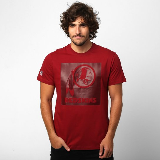 75c0944321 Camiseta New Era Washington Redskins Gel - Compre Agora