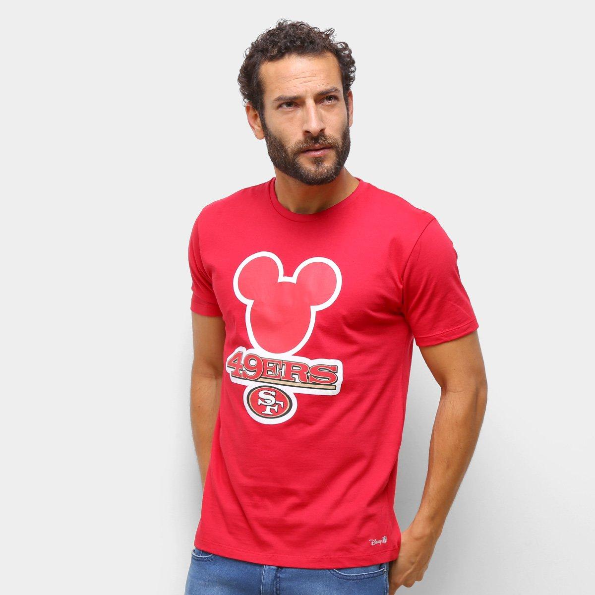 Camiseta NFL  SF 49Ers Disney Masculina