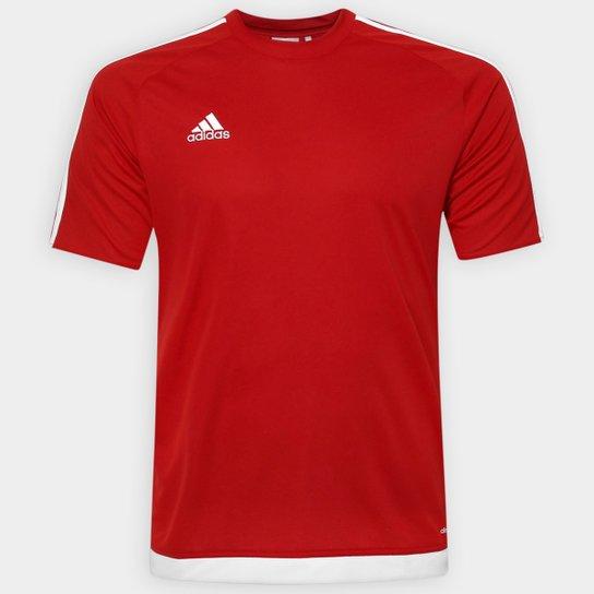 9b0bbc541bd Camisa Adidas Estro 15 Masculina - Vermelho - Compre Agora