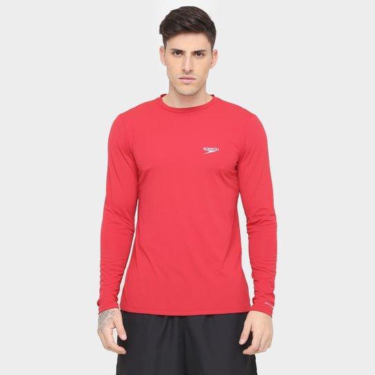 3e1bdb922 Camiseta Speedo Com Proteção UV Manga Longa Masculina - Compre Agora ...