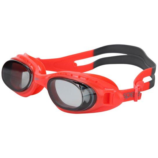 368841631 Óculos Speedo Tornado - Vermelho e Preto - Compre Agora