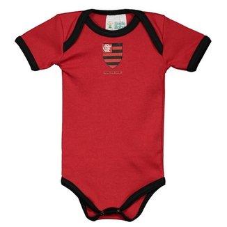 e5677fbdcf838 Kit Infantil 3 Peças São Paulo Torcida Baby Feminina · Confira · Kit Body  Flamengo