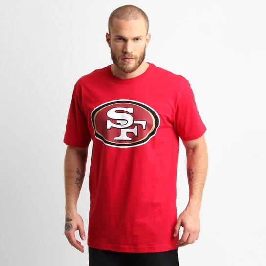 fdadd2cc97 Camiseta New Era NFL San Francisco 49ers - Vermelho - Compre Agora ...