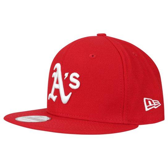 cc2a529ee2a12 Boné New Era 950 Basic Oakland Athletics - Compre Agora