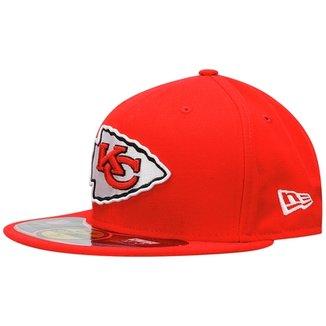Boné New Era NFL 5950 Evergreen Kansas City Chiefs TC 5fe7a49853