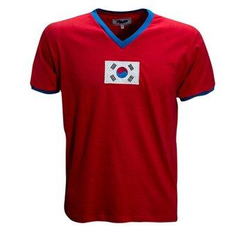 ae7983c633665 Camisa Liga Retrô Coréia do Sul 1970
