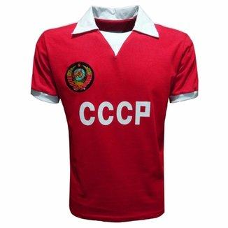 Camisa Liga Retrô CCCP 1980 (União Sóvietica   Rússia) 8616b77146369