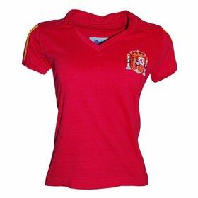 Camisa Seleção Espanha Infantil Home 2016 s nº Adidas - Compre Agora ... 5c48bb819b470