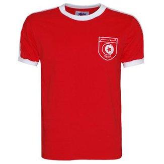 Camisa Liga Retrô Tunísia 1978 Masculina a599ddb3513fc