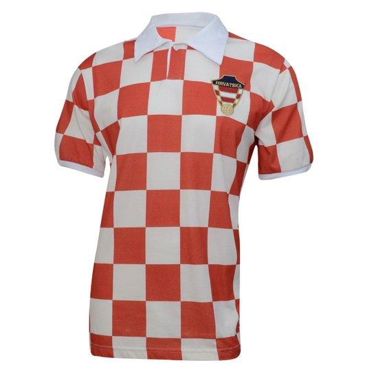 a59af2d64c Camiseta Retrô Croácia Liga Retrô - Compre Agora