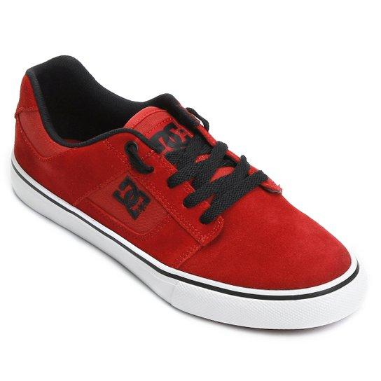 Tênis DC Shoes Bridge - Vermelho e Preto - Compre Agora  ba815b9f98984