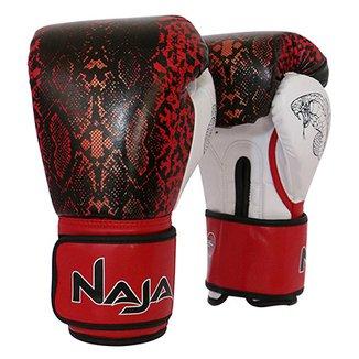 27c76bd64 Luva de Boxe   Muay Thai Feminina Naja Animal Print Cobra 12 Oz