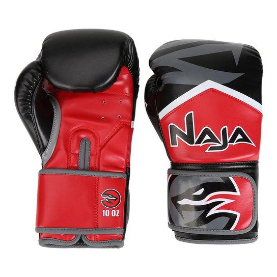 b02957ebe Luva de Boxe   Muay Thai Naja New Extreme 10 Oz - Compre Agora ...