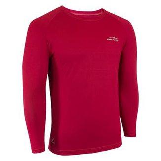 Camisa Raglã Poliamida Manga Longa Proteção Solar Masculina 66b1c318e58a4