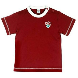 422c1b72ff2eb Baby Look Cores Clube Meia Malha Menino Fluminense Reve Dor - 3 Anos
