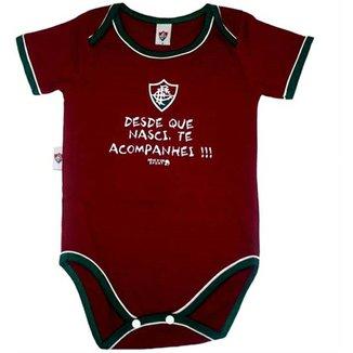 Body Bebê Oficial Meia Malha Unissex Fluminense Reve Dor - M 7cc8d42e733