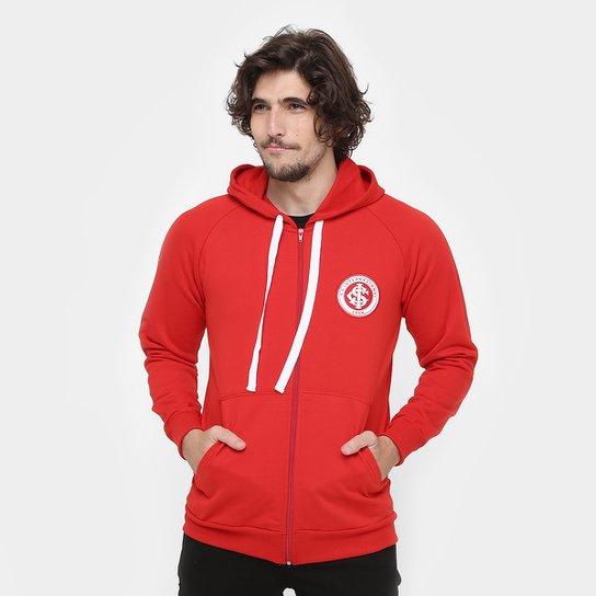 9dcfd831ea99f1 Jaqueta Internacional Moletom Masculina - Vermelho