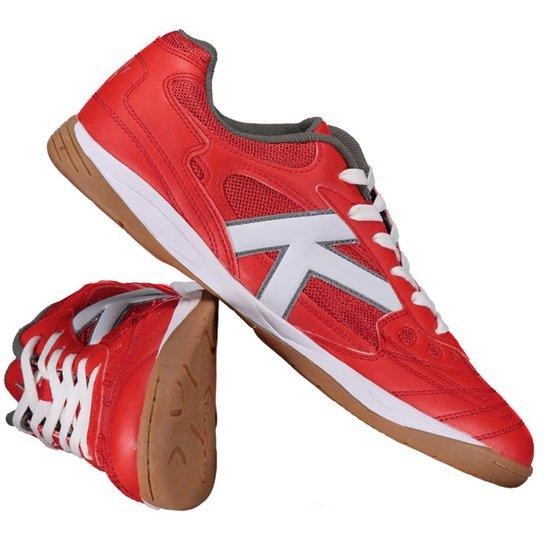 c47374f2b0 Chuteira Kelme Copa Futsal - Vermelho