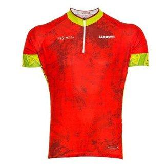 Camisa Ciclismo Woom Essence Alpes Masculina 635d87f341c30