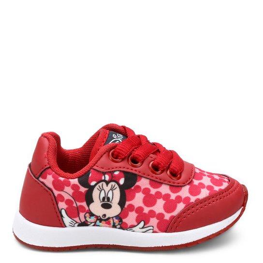 ad42777b5cb Tênis Infantil Disney Minnie Feminino - Vermelho - Compre Agora ...