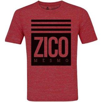 e96afabc9 Camiseta Zé Carretilha Flamengo Zico Mesmo Masculino
