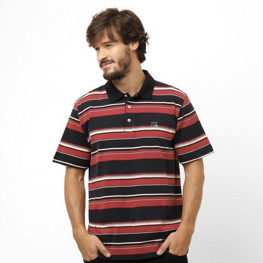 ef01850404302 Camisa Polo Quiksilver Decay Stripe - Compre Agora   Netshoes