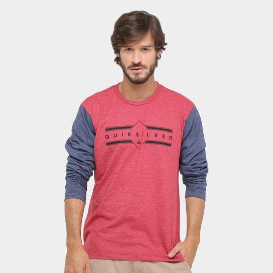 c504d81ce3 Camiseta Quiksilver Basica Colors Manga Longa - Compre Agora