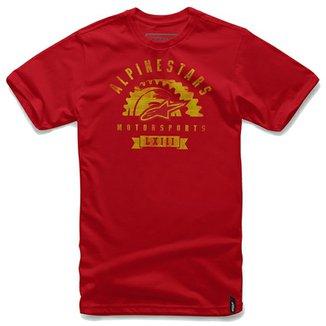 bafb2e3d27 Camiseta Alpinestars Apparat Vermelha - (M M)