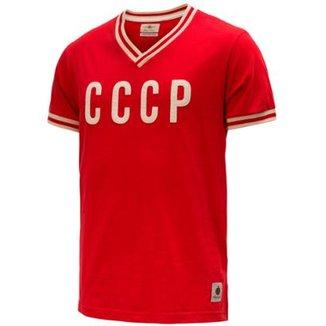 a4b87c2f74 Camisa Retrô Gol Seleção CCCP Edição Limitada Masculina