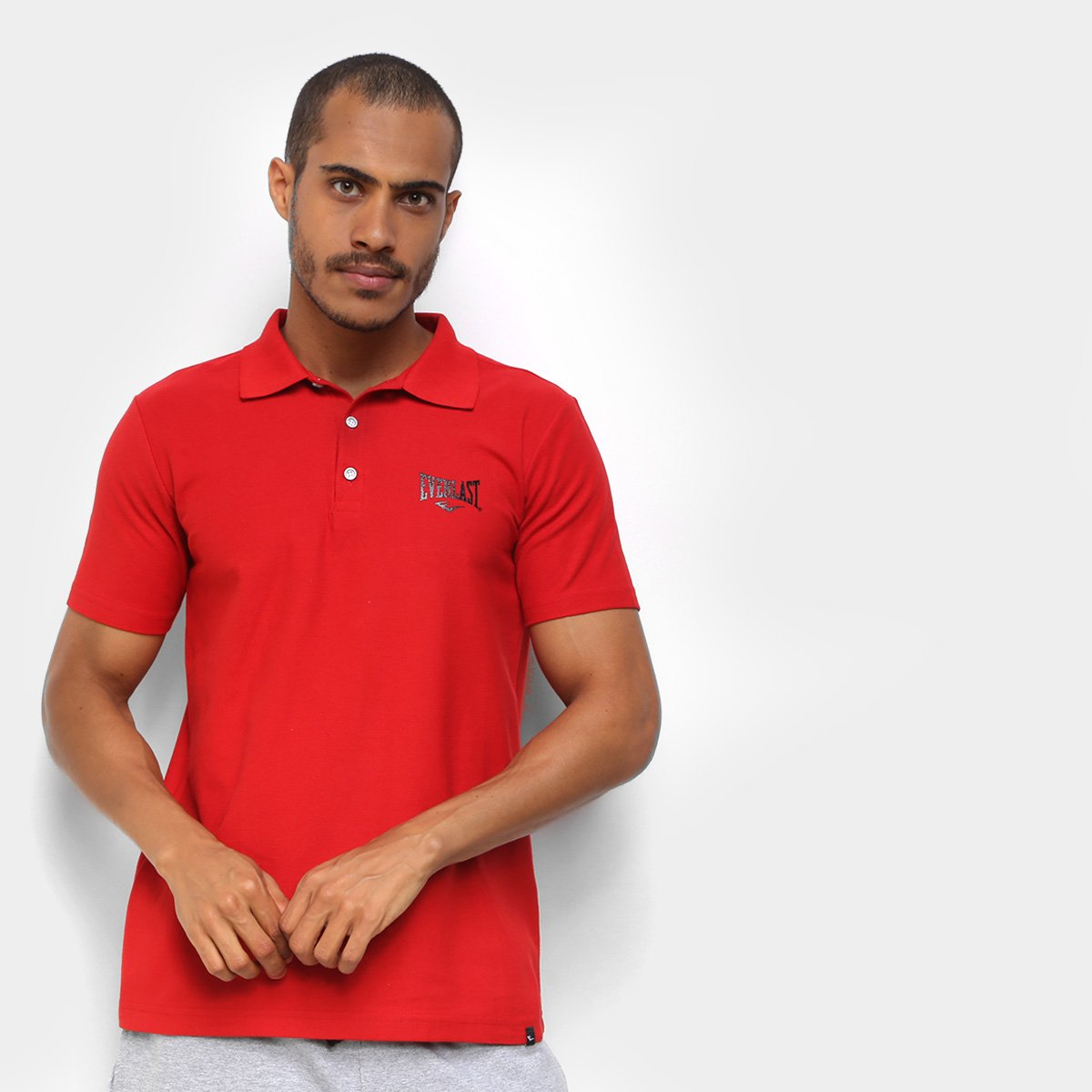 Camisa Polo Everlast Fundamentals Masculina
