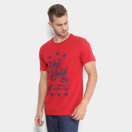 3c0fd31718 Camiseta Ecko Logo Bandeira Masculina - Compre Agora