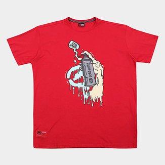 cf276714d0f39 Camiseta Ecko Estampa Grafite Plus Size Masculina