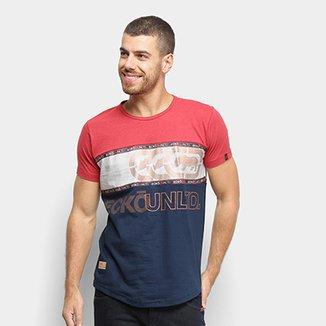 93f82544f9 Camiseta Ecko Faixa Central Especial Masculina
