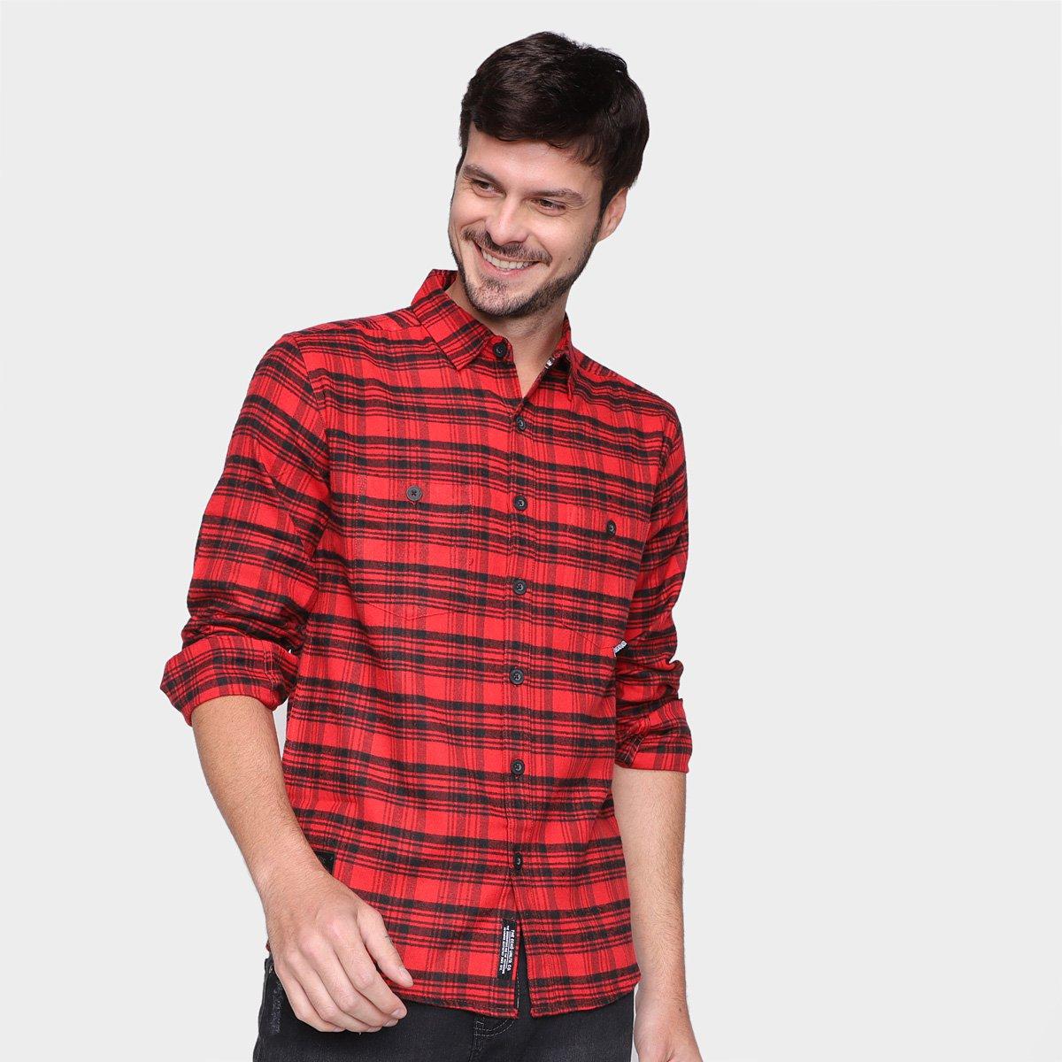 Camisa Xadrez Ecko Masculina
