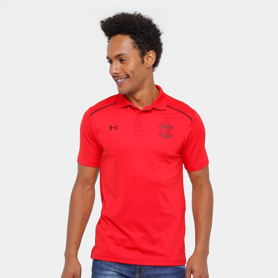 8bc3692d2fc Camisa Polo Southampton Under Armour Masculina - Vermelho - Compre ...