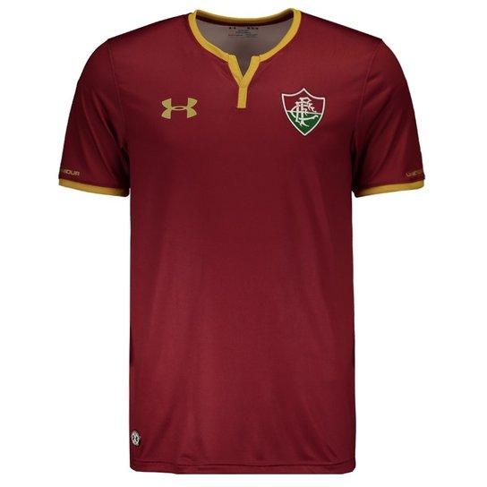 Camisa Under Armour Fluminense III 2017 - Vermelho - Compre Agora ... e46db4e2fe8f2