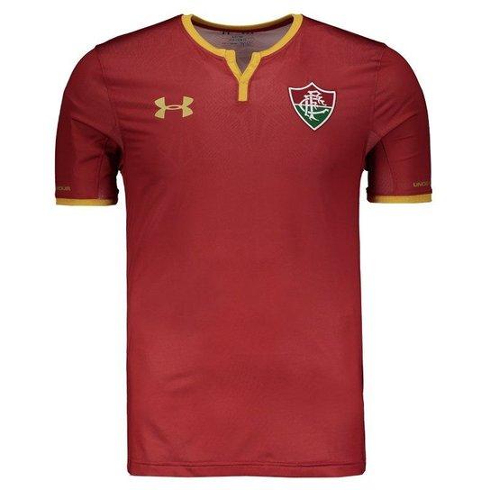 d8d2f2799b Camisa Under Armour Fluminense III 2017 Performance - Vermelho ...