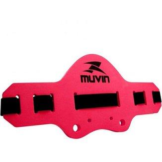 Cinto Flutuante Hidroginástica Acqua Jogger Regulavel Muvin - Vermelho c36ff8ac14e